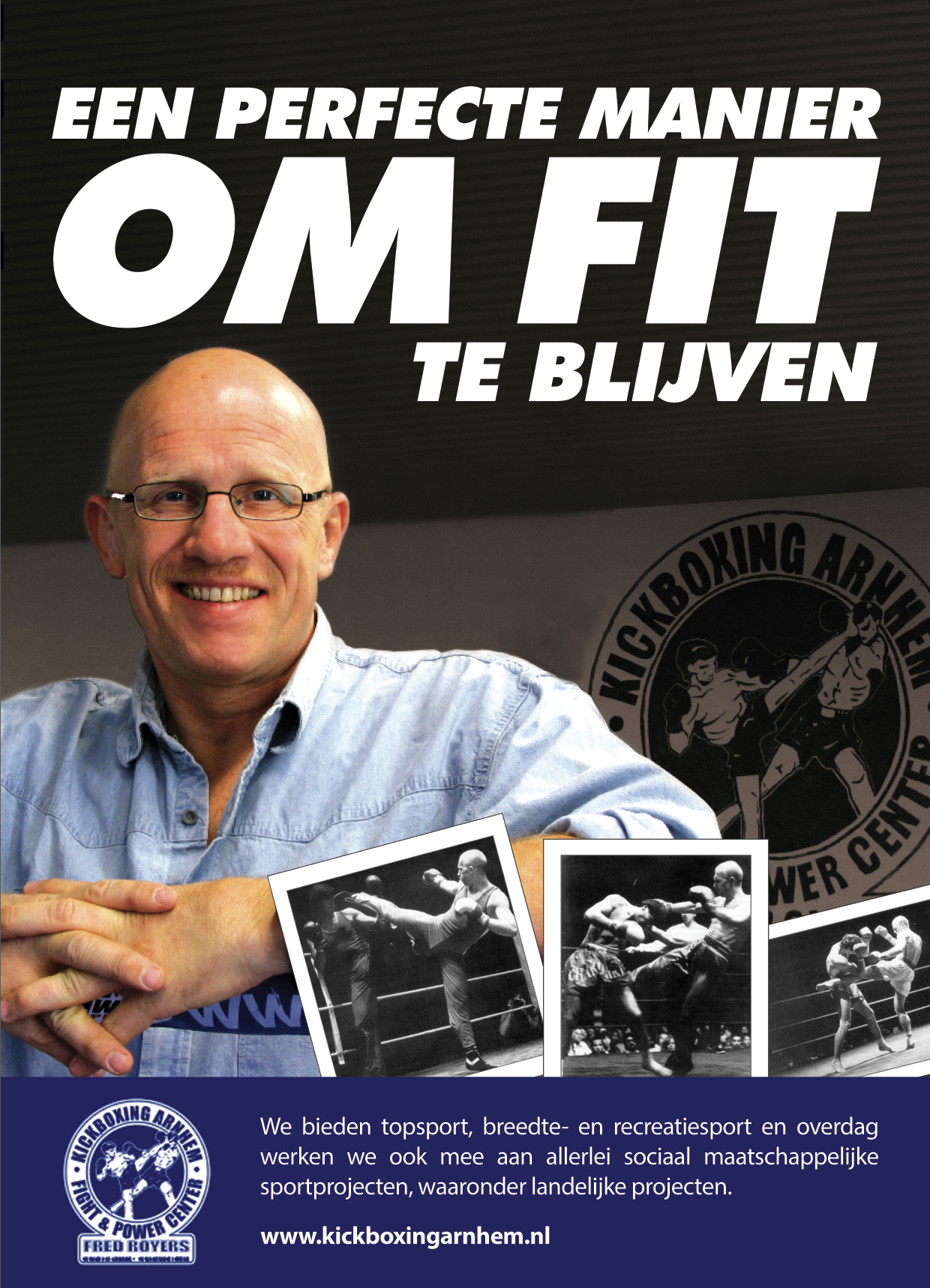 Fred Royers om fit te blijven